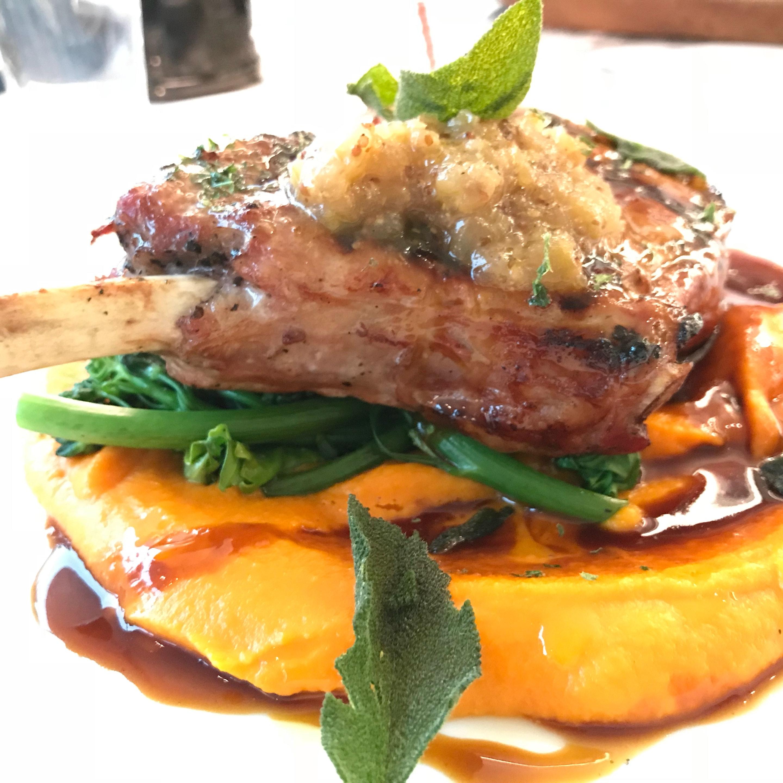 Honey Glazed Iberico Pork Chop