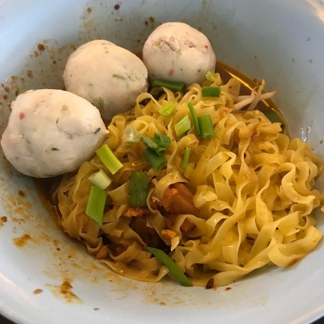 Handmade Fishballs Noodles