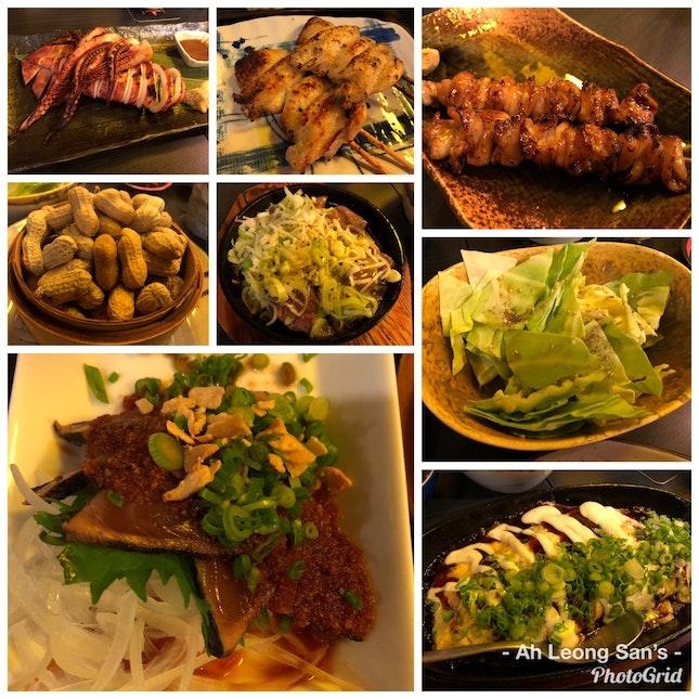 Izakaya Styled Food