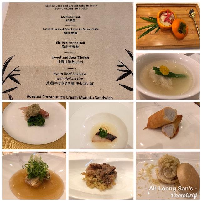 Taste Of Kyoto - Kaiseki By Chef Yozo Uefa