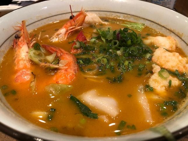 Le Signature Trio Shrimp Ramen