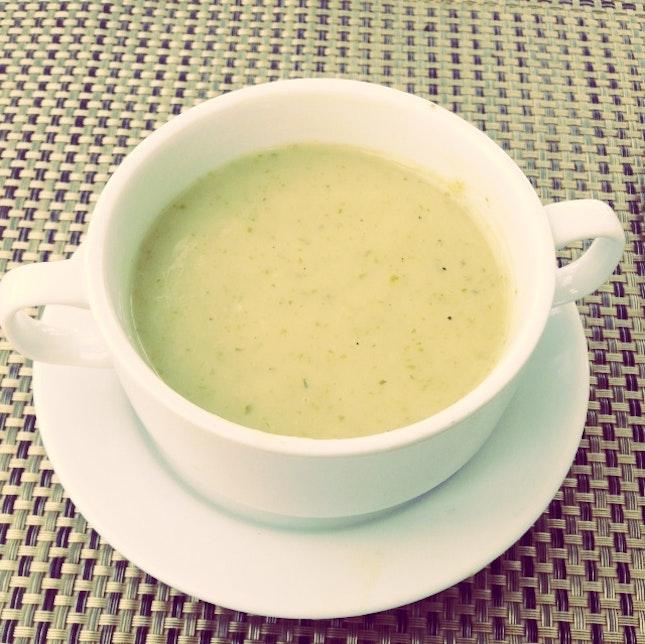 Cream of Lettuce Soup