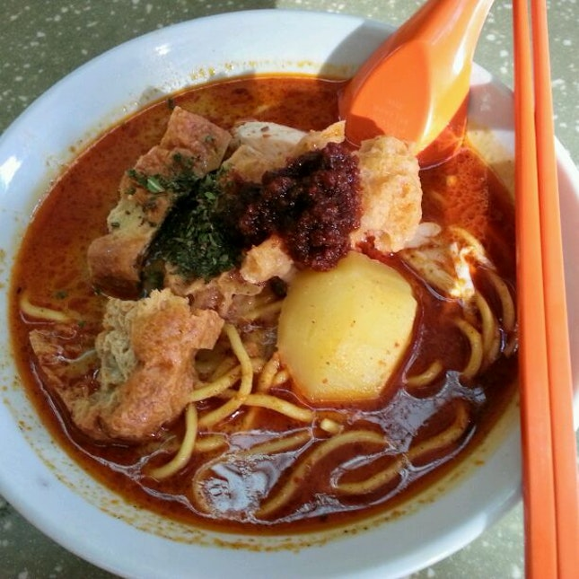 Laksa Chicken Noodle