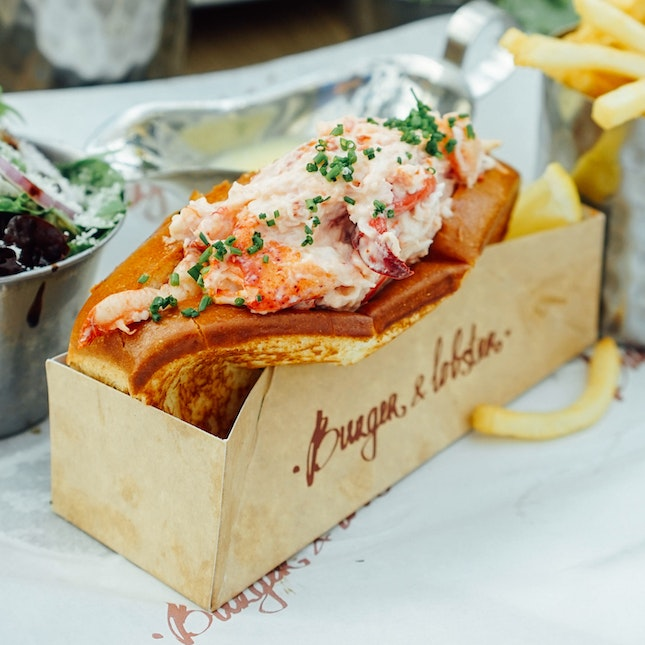 Luscious Lobster Roll