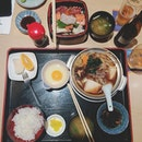 Wishing we were back in Japan but this authentic meal will do for now 🎌 | #igfood #sgig #igsg #sgfood #feedfeed #instasg #yummy #nom #jj_forum #foodforfoodies #foodspotting #foodporn #foodie #instafood #foodgasm #food #foodcoma #cafehoppingsg #iphonesia #burpple #japanese #sgfoodies #dinner #nihon #日本 #singapore #plating #igaddict #sgcafes #onthetable