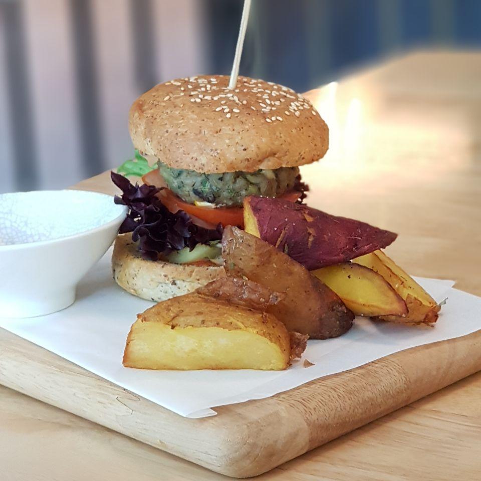 Barley & Mushroom Burger