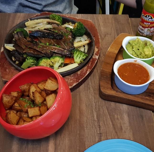 Vegetable Fajitas