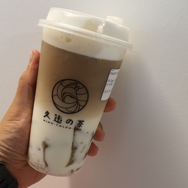 Roasted Oolong Latte