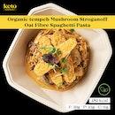 Organic Tempeh Mushroom Stroganoff Oat Fibre Spaghetti Pasta
