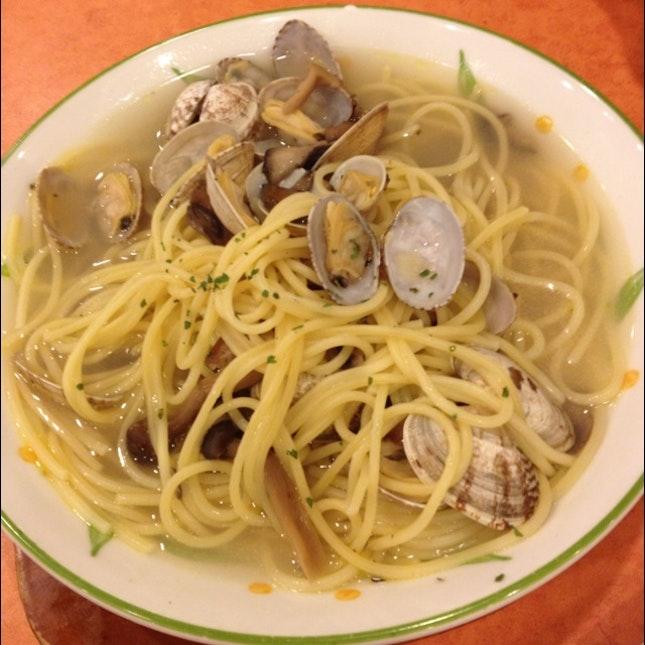 Vongole Soup Pasta