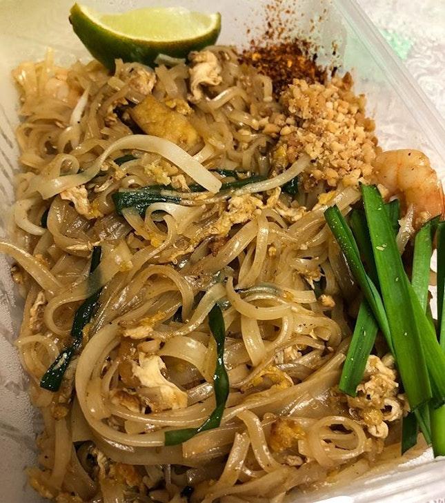 Ordered #takeaway #PadThai from #YanMookata as my humble #dinner #burpple
