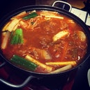 #soup #yum #hotpot #korean #food #foodies #foodporn #sinful #singapore