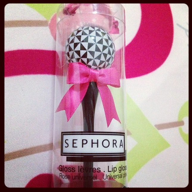 It's a Sephora lip-gloss!