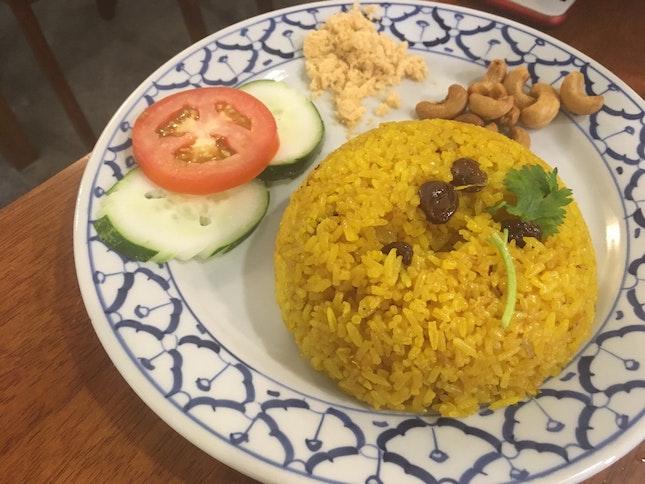 Pineapple Fried Rice ($6)