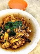 Dry Mee Hoon Kueh ($4.50)