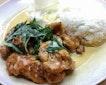 Salted Egg Pork Rib Rice ($6.50)