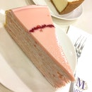 Sakura Berry Mille Crepe ($9.50)