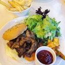 Miso Pork Burger ($16).