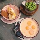 MSW x Coco Ice Cream ($8.80), Chendol Panna Cotta ($6.80), Rockmelon Sago ($6.80).