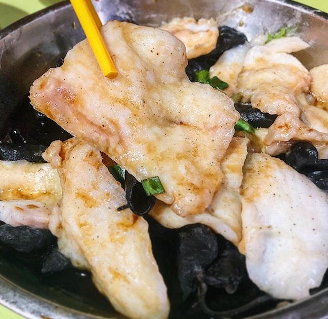 Gu Fa Steamed Sliced Fish ($6).