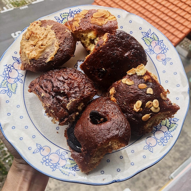Assorted Uggli Muffins ($12/12 pieces).