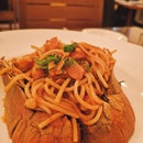 My Fav Dish- Scampi Pasta
