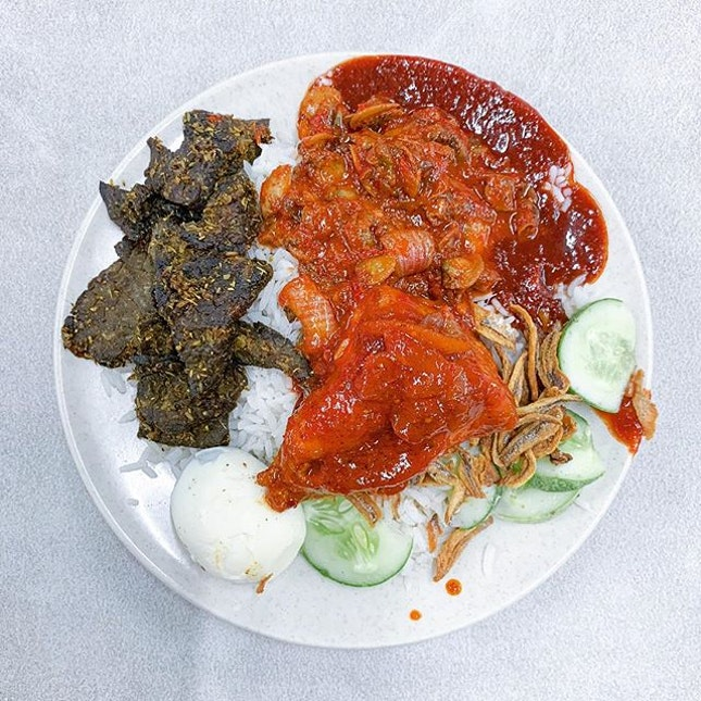 Epic nasi lemak is epic!