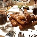Churros & Matcha Tart