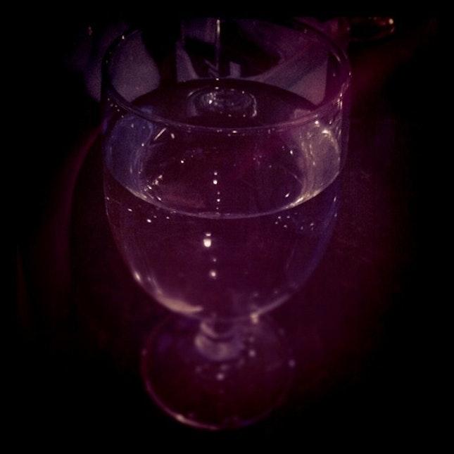 dark glass drink