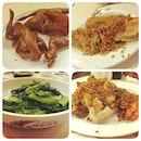 #dinner #FotoRus #seafood #chinesefood #chinese #food #pigeon #mantisprawn #prawn #crab #chillicrab #lettuce #hongkong