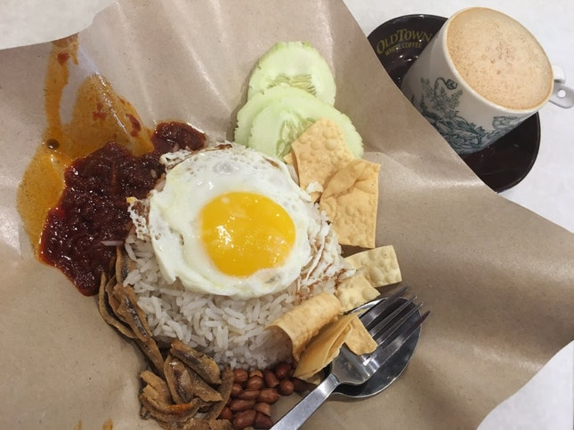 Old Town Nasi Lemak Classic + White Coffee