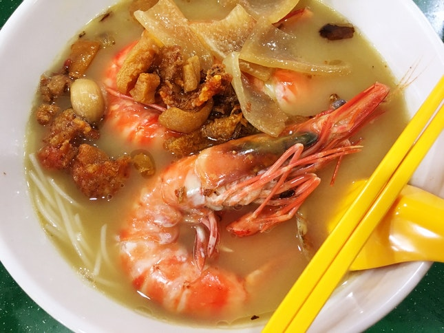 大蝦面湯 Big Prawn Noodle Soup