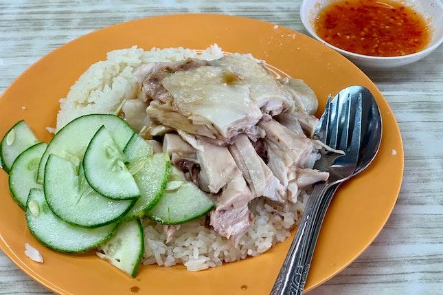 Chicken Thigh Rice 鸡尾饭