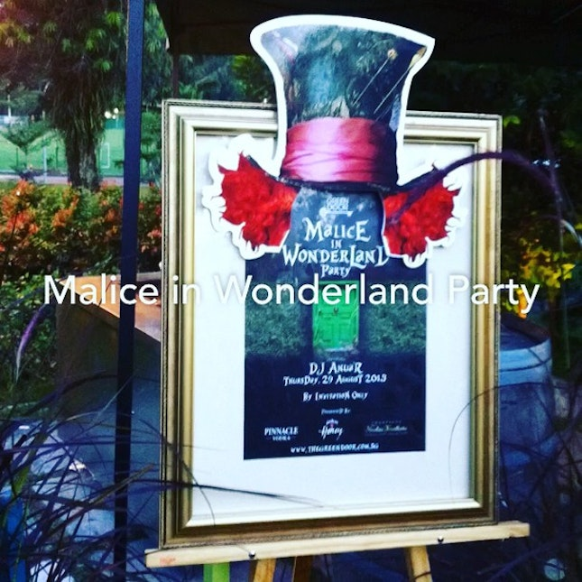 Malice In Wonderland Party