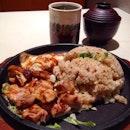 Chicken garlic rice seto 🐻🐾