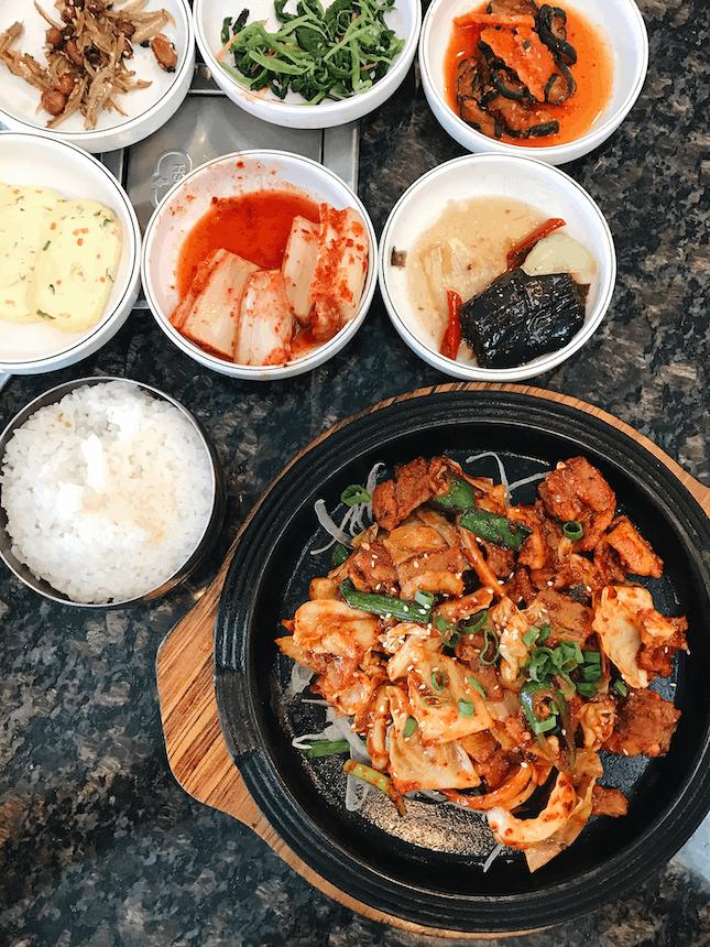 For Tasty Korean Lunch In USJ Taipan