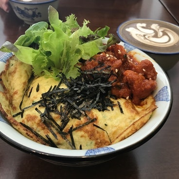 For East-Meets-West Cafe Fare