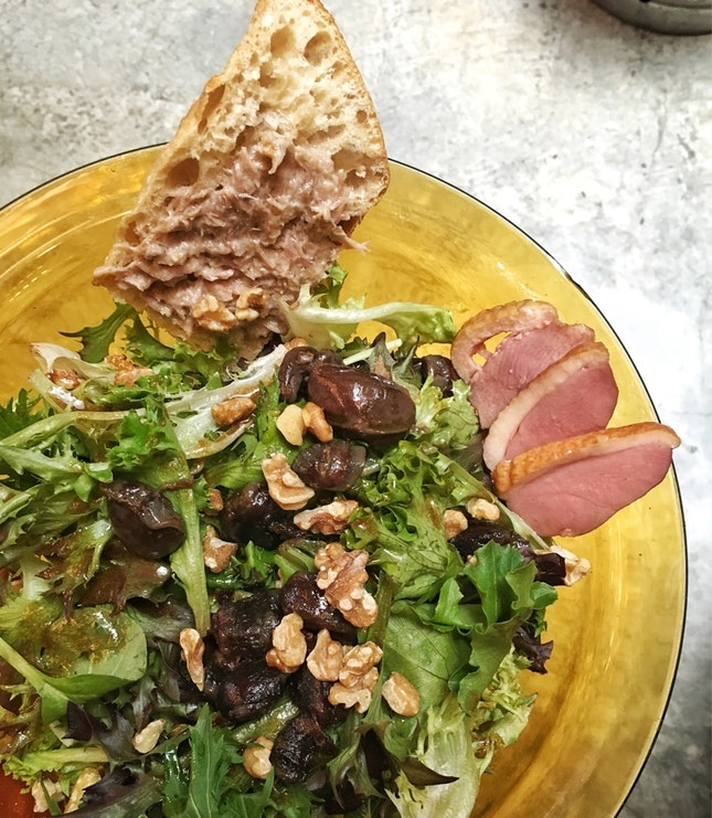 For Tasty Green Salads in Telok Ayer