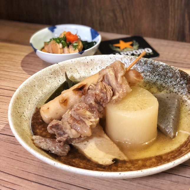 For Izakaya-Style Oden and Rice Bowls