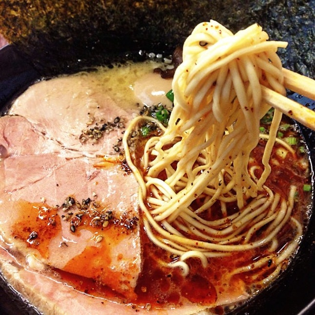 For The King Of Tonkotsu Broth